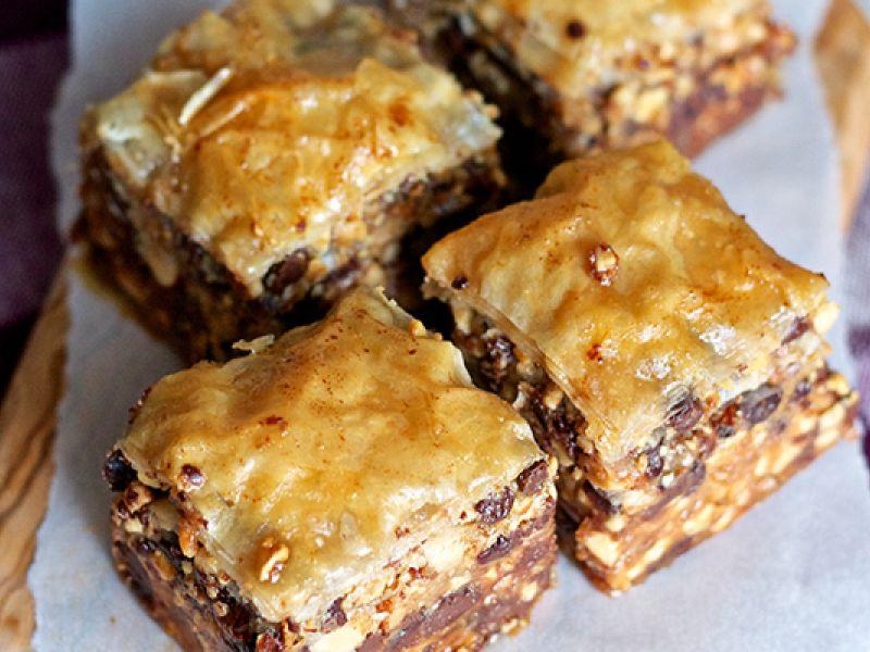 Peanut Butter Baklava