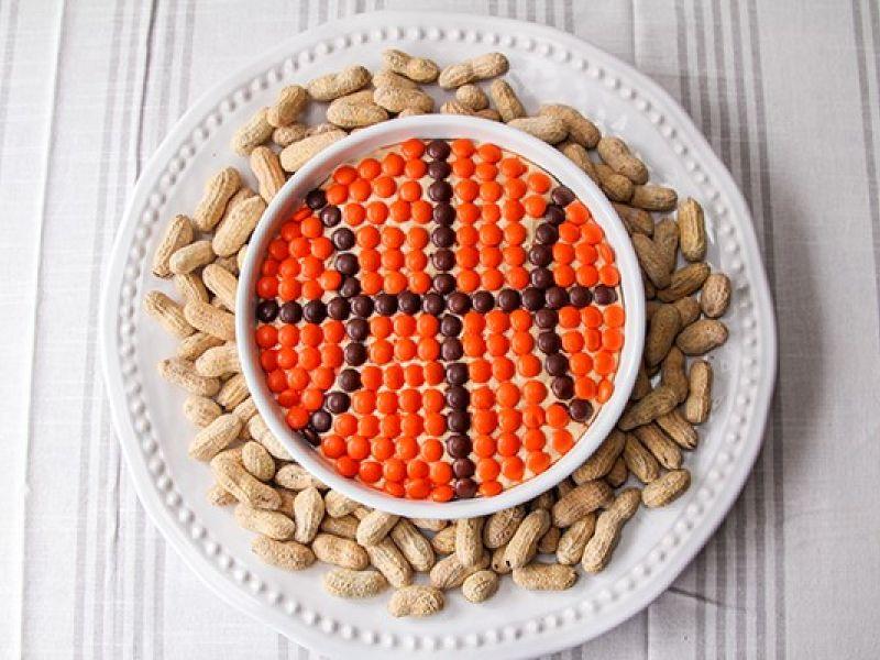 Basketball Peanut Butter Dip